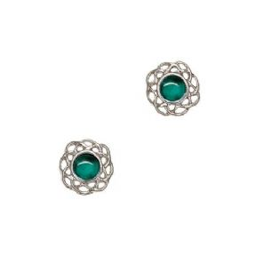 Celtic Birthstone Earrings May - Emerald 2016